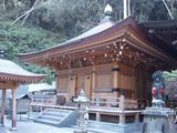 青龍寺  本堂の左隣には大師堂があります