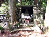横峰寺 星が森にある弘法大師像