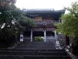 竹林寺 重厚な仁王門が迫力のある姿で出迎えてくれます