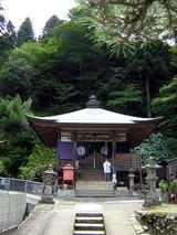 横峰寺 境内に入るとまず大師堂がある