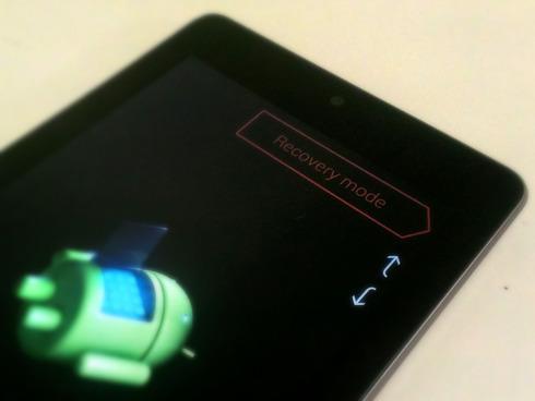 Nexus7(2012) Recovery Mode