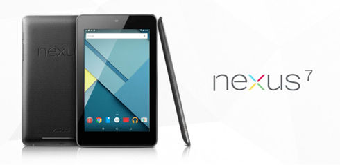 nexus7(2012) Lollipop