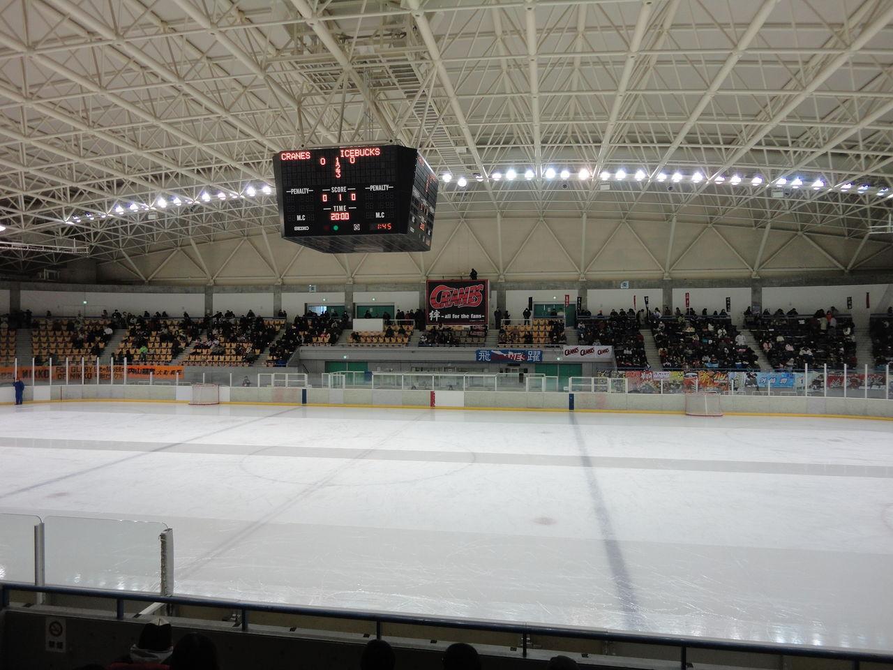 スタジアム放浪記 : [icehockey,1]日本製紙アイスアリーナ(丹頂 ...