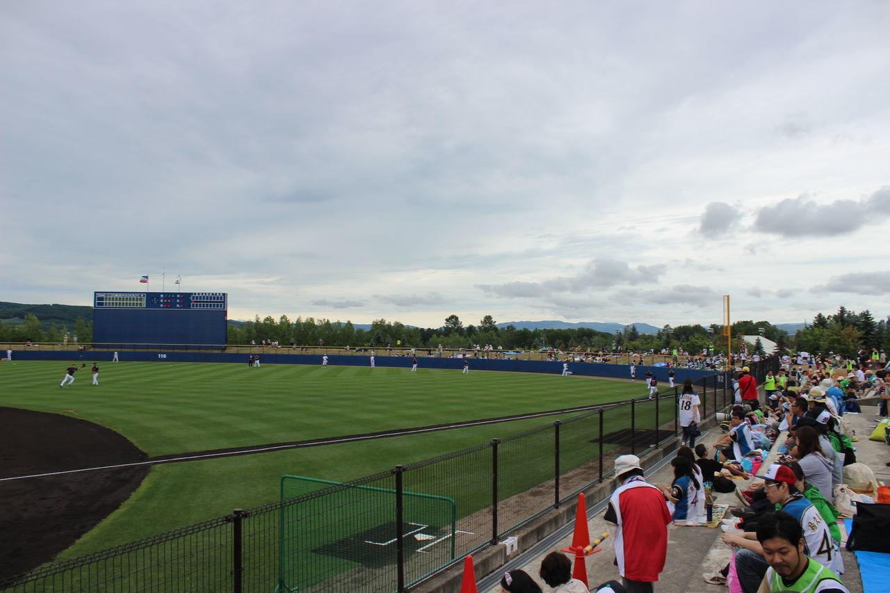 スタジアム放浪記 : [baseball,5]士別市ふどう球場