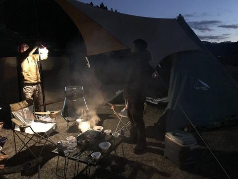 2019年末キャンプだ南国老人会 2
