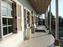 三菱第二ドックハウス一階回廊