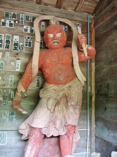 阿形・金剛力士像(右)