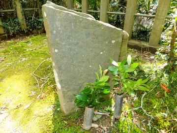飯篠長威斎の墓
