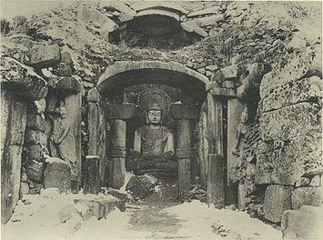 石窟庵発見時写真・wikipedia
