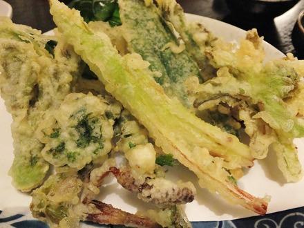 6・春の山菜天婦羅