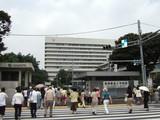 慶応病院外観