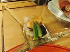 12・2冷たい野菜の炊合せ