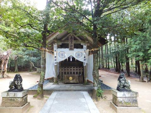 真名井神社拝殿