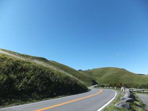 秋のビーナスライン車山高原