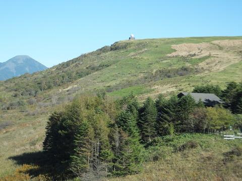 蓼科山とコロボックル