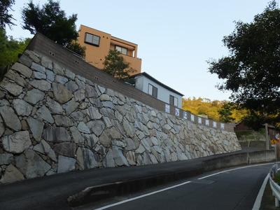 73・峰山公園への自動車道