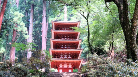 17・室生寺・五重塔