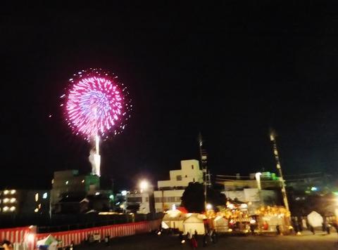 9・御旅所神事と花火