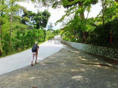 5・海住山寺への坂道