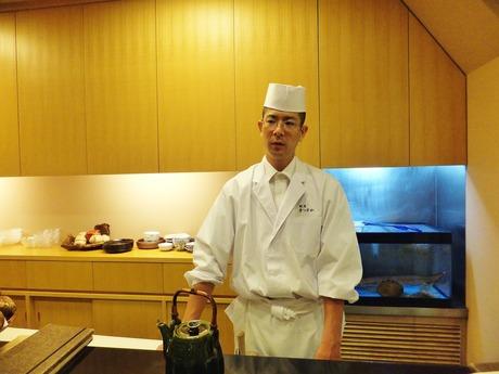料理を語る松岡秀雄氏