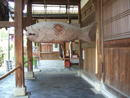 宇治・萬福寺の魚板(ギョバン)