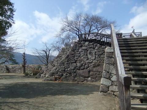 戊亥の櫓台