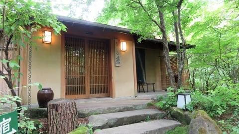2・たてしな庵の宿玄関