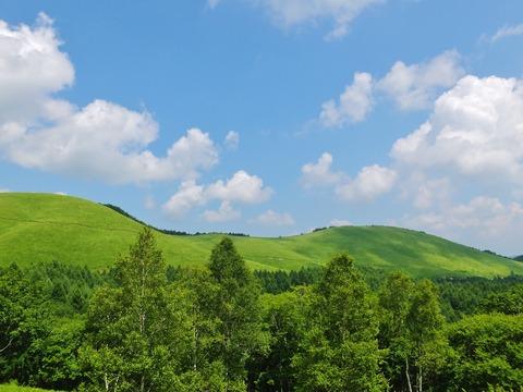 6・ビーナスラインの夏雲