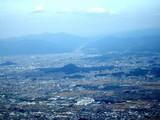 葛城山から大和三山
