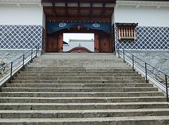 長崎奉行所正門階段