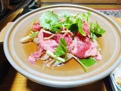 宇和島牛の鍋