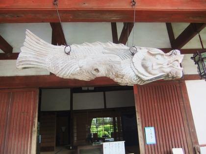 長崎・興福禅寺の魚板