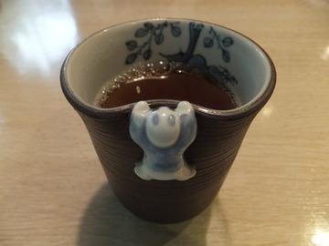 ほうじ茶の湯呑