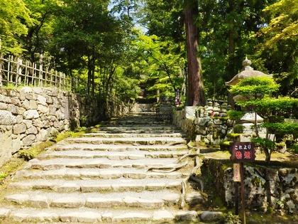 4・二天門へのぼる石段