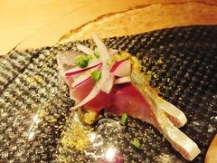 9・前菜・鮮魚のカルパッチョ