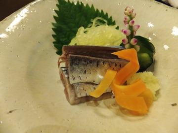 秋刀魚の肝和え