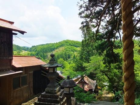 3.観音堂から見る長谷の山々