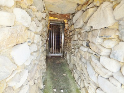 羨道と玄室