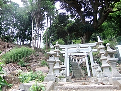 能理刀神社の一之鳥居