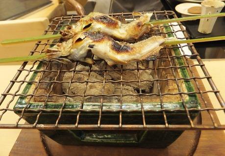 琵琶湖の北で採れた鮎です