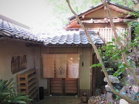 松籟庵の玄関