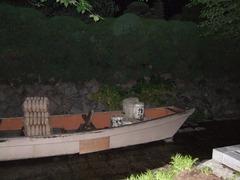 4・高瀬川に浮かぶ旧高瀬舟