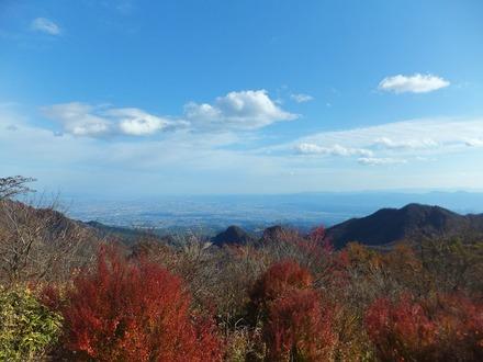 榛名富士山頂より