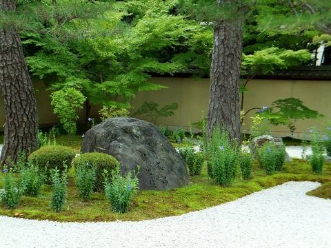 紫式部邸宅跡揮毫の石碑