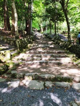 29・百済寺の階段