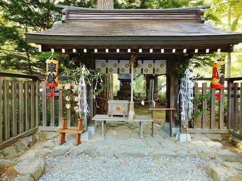 穂高神社・奥宮
