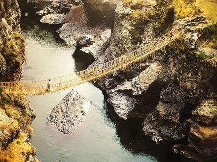 インカ最後の縄橋