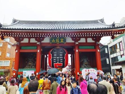 2・浅草雷門