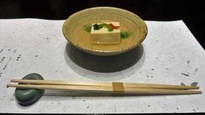 13・小鉢・もろこし豆腐