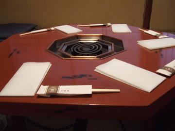 八角形テーブル